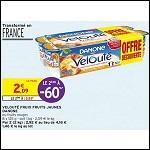 Bon Plan Yaourts Velouté Fruix chez Intermarché (14/08 - 26/08) - anti-crise.fr