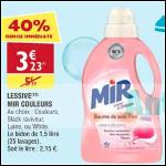 Bon Plan Lessive Mir Couleurs chez Atac (05/09 - 10/09)- anti-crise.fr