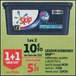 Bon Plan Lessive Skip Ultimate en Capsules chez Auchan Supermarché (26/09 - 02/10) - anti-crise.fr