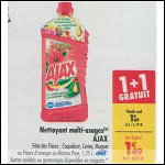 Bon Plan Nettoyant Ajax chez Carrefour (02/10 - 08/10) -anti-crise.fr