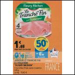 Bon Plan Jambon Fleury Michon chez Leclerc (18/09 - 28/09) - anti-crise.fr