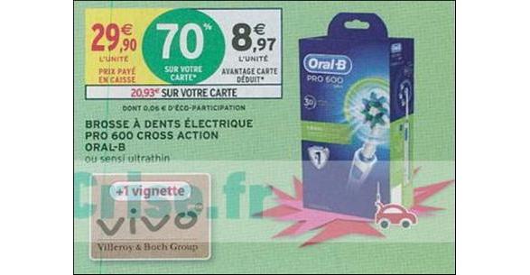 Bon Plan Brosse à Dents Oral-B Electrique chez Intermarché - anti-crise.fr