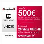 Offre de Remboursement LG : Jusqu'à 500€ Remboursés sur TV OLED, UHD ou LED - anti-crise.fr