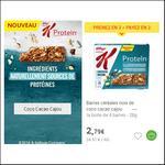 Bon Plan Barres Special K Protein Kellogg's chez Carrefour Market - anti-crise.fr