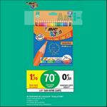 Bon Plan Crayons de Couleur Bic chez Intermarché - anti-crise.fr