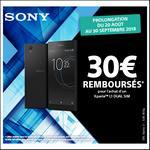 Offre de Remboursement Sony : 30€ Remboursés sur Smartphone Xperia™ L1 Dual Sim - anti-crise.fr