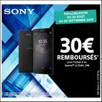 Offre de Remboursement Sony : 30€ Remboursés sur Smartphone Xperia™ L2 Dual Sim - anti-crise.fr