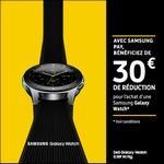 Offre de Remboursement Samsung : 30€ Remboursés sur Galaxy Watch - anti-crise.fr