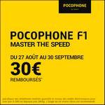 Offre de Remboursement Xiaomi : 30€ Remboursés sur Smartphone Pocophone F1 - anti-crise.fr