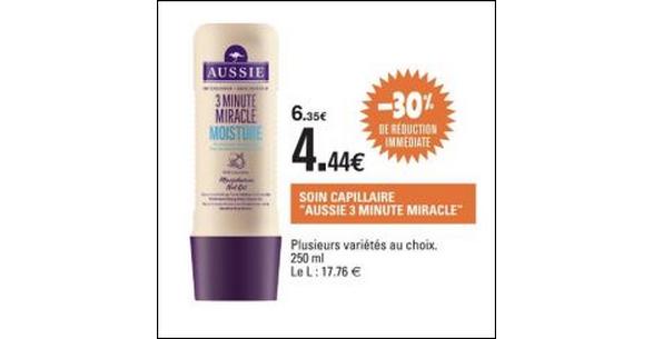 Bon Plan Shampooing Aussie chez Leclerc - anti-crise.fr