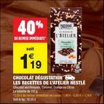 Bon Plan Tablette Nestlé Les Recettes de l'Atelier chez Carrefour Market - anti-crise.fr