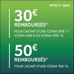Offre de Remboursement Acer : Jusqu'à 50€ Remboursés sur Tablette Iconia - anti-crise.fr