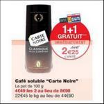 Bon Plan Café Soluble Carte Noire chez Monoprix - anti-crise.fr