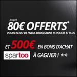 Offre de Remboursement Bridgestone : Jusqu'à 80€ en Bon d'achat sur AlloPneus - anti-crise.fr