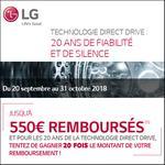 Offre de Remboursement LG : Jusqu'à 550€ sur Lave-Linge ou Lave-Linge Séchant, et/ou TWINWashTM Mini - anti-crise.fr