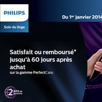 Offre de Remboursement Philips : Fer à Repasser Perfectcare Satisfait ou 100% Remboursé