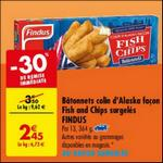 Bon Plan Bâtonnets Fish & Chips Findus chez Carrefour - anti-crise.fr
