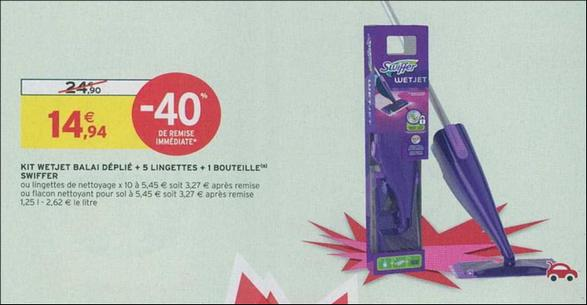 Bon Plan Balai Spray Swiffer Wetjet chez Intermarché - anti-crise.fr