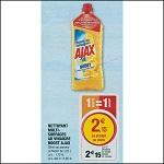 Bon Plan Nettoyant Ajax Boost chez Magasins U (04/09 - 15/09) - anti-crise.Fr
