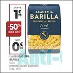 Bon Plan Pâtes Fusilli Barilla Academia chez Géant Casino (11/09 - 23/09) - anti-crise.Fr