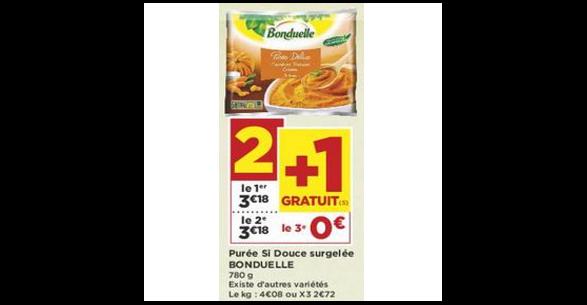 Bon Plan Purée Bonduelle chez Casino (04/09 - 16/09) - anti-crise.fr