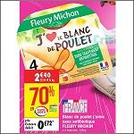 Bon Plan Blanc de Poulet Fleury Michon chez Cora (25/09 - 01/10) -anti-crise.Fr