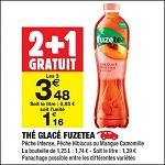 Bon Plan Boisson Fuze Tea chez Carrefour Market (25/09 - 30/09) - anti-crise.Fr