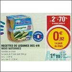 Bon Plan Bols de Légumes Naturnes de Nestlé chez Magasins U (25/09 - 06/10) - anti-crise.fr