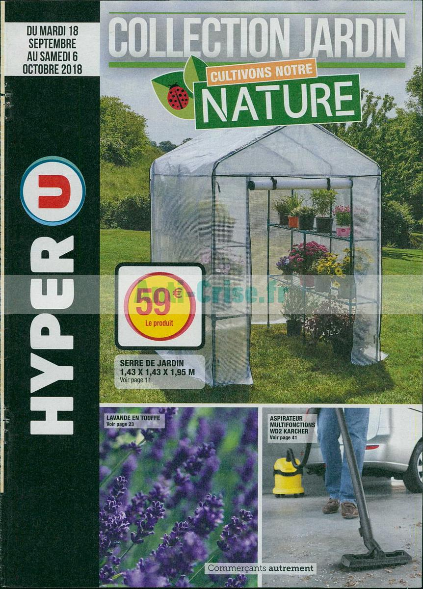 Catalogue Hyper U Du 18 Septembre Au 6 Octobre 2018 Jardin