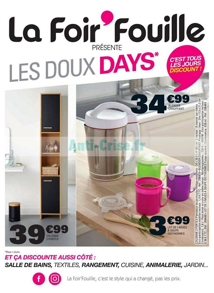 Catalogue La Foirfouille Du 24 Septembre Au 10 Octobre 2018