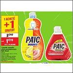Bon Plan Liquide Vaisselle Paic chez Cora (25/09 - 01/10) - anti-crise.fr