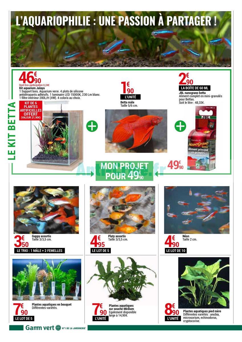 Gamm Vert Le Nouveau Catalogue Du 19 Au 30 Septembre 2018 Est Disponible Les Nouvelles Promos