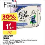 Bon Plan Yaourts Light & Free de Danone chez Atac (10/10 - 15/10) - anti-crise.fr