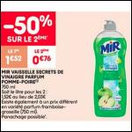 Bon Plan Liquide Vaisselle Mir chez Leader Price (16/09 - 28/09) - anti-crise.fr