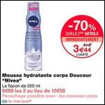 Bon Plan Mousse Hydratante Nivéa chez Monoprix (10/10 - 22/10) - anti-crise.fr