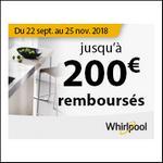 Offre de Remboursement Whirlpool : Jusqu'à 200€ Remboursés sur Table de Cuisson Induction - anti-crise.fr
