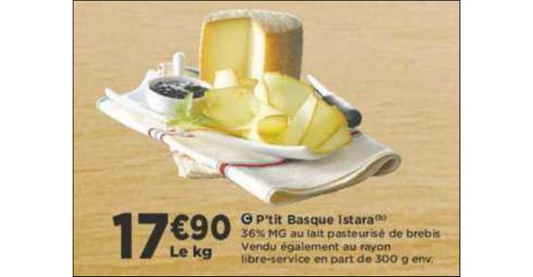 Bon Plan P'tit Basque Istara chez Casino