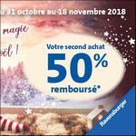 Offre de Remboursement Ravensburger : 50% Remboursés sur le Deuxième Jeu - anti-crise.fr