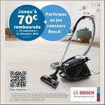 Offre de Remboursement Bosch : Jusqu'à 70€ Remboursés sur Aspirateur Relaxx'x ProSilence - anti-crise.fr