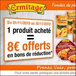 Offre de Remboursement Ermitage : 8€ Offerts en Bons - anti-crise.fr