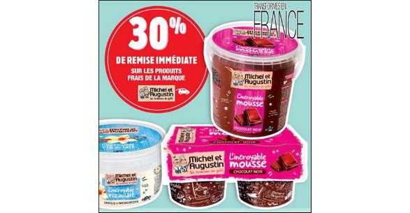 Bon Plan Mousse au Chocolat Michel et Augustin chez Carrefour Market - anti-crise.fr