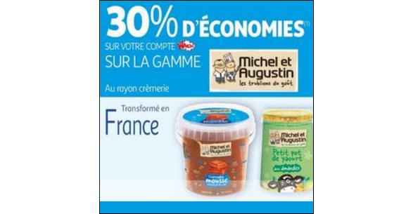Bon Plan Mousse au Chocolat Michel et Augustin chez Auchan - anti-crise.fr