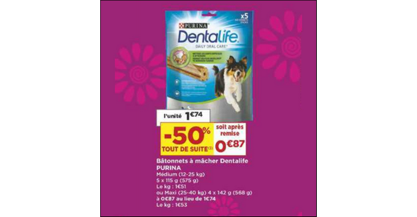 Bon Plan Purina Dentalife chez Casino - anti-crise.fr