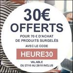 Bon Plan Toupargel : 30€ Offerts pour 70€ d'Achat de Produits surgelés - anti-crise.fr
