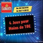 Bon Plan Jeux Goliath chez Carrefour : 4 Jeux pour moins de 18€ !! -anti-crise.fr