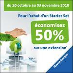 Offre de Remboursement Ravensburger : 50% Remboursés sur GraviTrax - anti-crise.fr