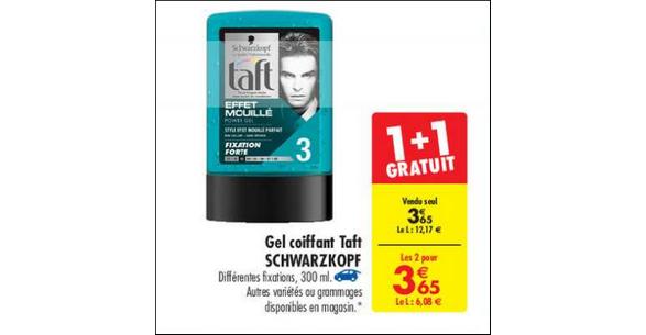 Bon Plan Produit Coiffant Taft chez Carrefour - anti-crise.fr