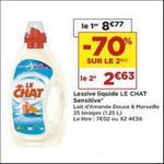 Bon Plan Lessive Liquide Le Chat Sensitive chez Casino - anti-crise.fr