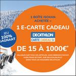 Bon Plan Isoxan : 1 E-carte Cadeau Décathlon Offerte - anti-crise.fr