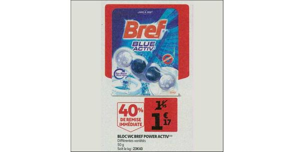 Bon Plan Bloc Bref WC chez Auchan - anti-crise.fr